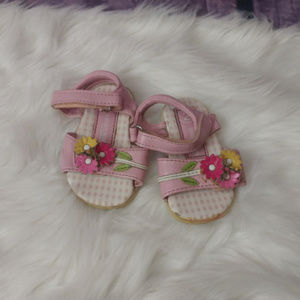 Other - girls toddler size 2 sandals floral AW2